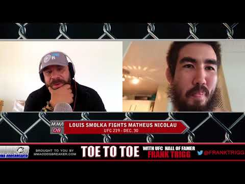 Frank Trigg pre-fight interview with UFC 219's Louis Smolka