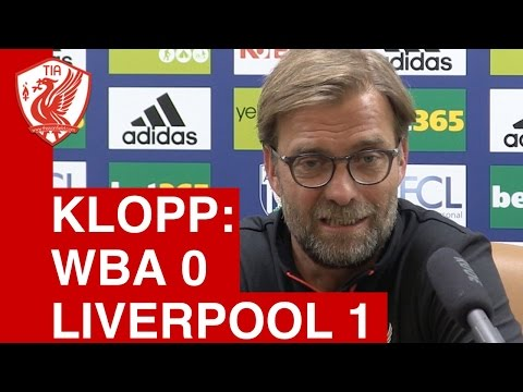 West From 0-1 Liverpool: Jurgen Klopp Post Match Press Conference