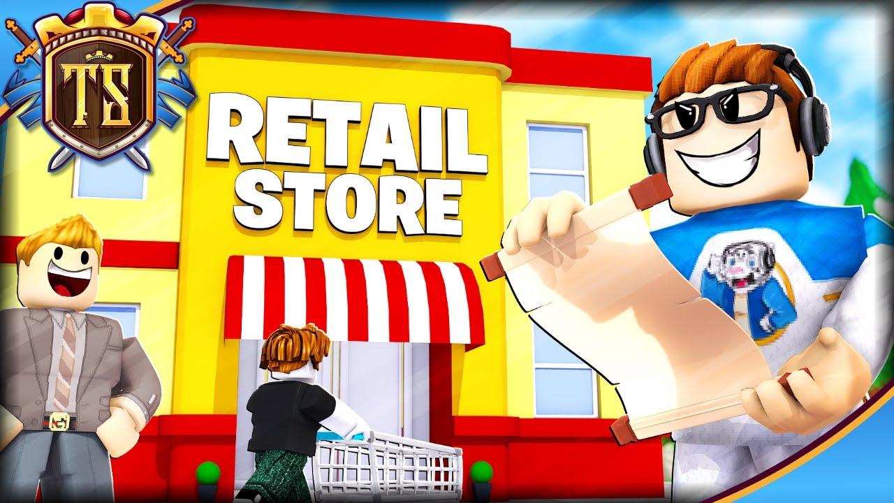 STJAL BUTIK-PLANER FRA MINE KONKURRENTER! - Retail Tycoon 2   Dansk Roblox med TortenSkjold