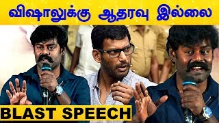 I Am Not Going To Support Vishal – RK Suresh Blasts!