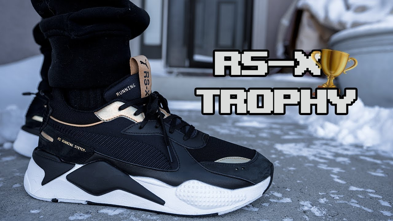 d9e409d06ef5 PUMA RS-X TROPHY REVIEW - YouTube