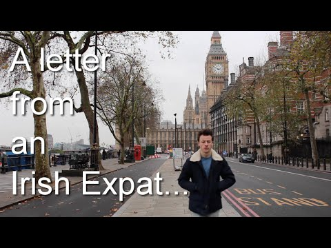 A Letter from an Irish Expat   Sean Burke