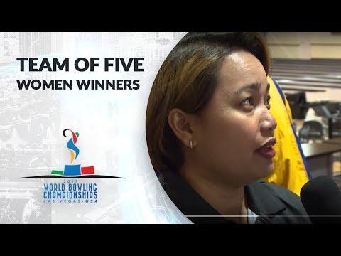 Women's Team of 5 winners - Malaysia