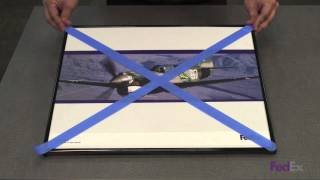 How to Safely Pack and Ship Framed Artwork - FedEx