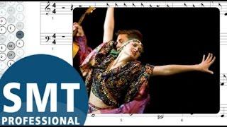 Как играть на баяне Цыганочка | How to play Gipsy on accordion | SMT Pro
