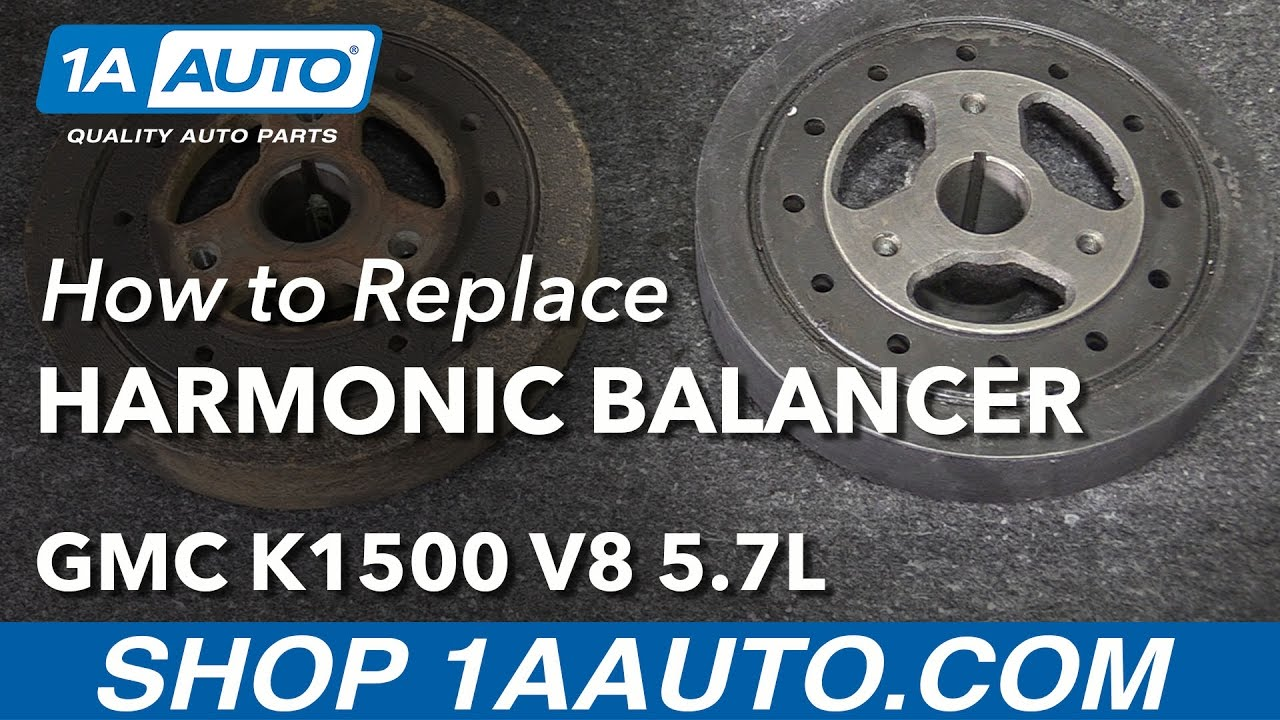 How To Install Replace Harmonic Balancer 1996 99 Gmc K1500 V8 57l S10 Tbi 2 5 Wire Diagram Buy Parts At 1aautocom