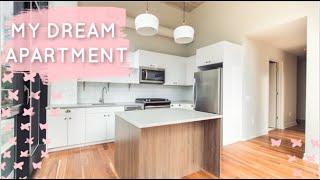 CHICAGO EMPTY APARTMENT TOUR - We got our DREAM apartment!