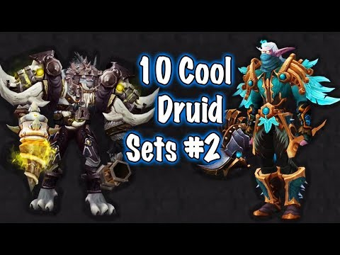 Jessiehealz - 10 Cool Druid Transmog Sets #2 (World of Warcraft)