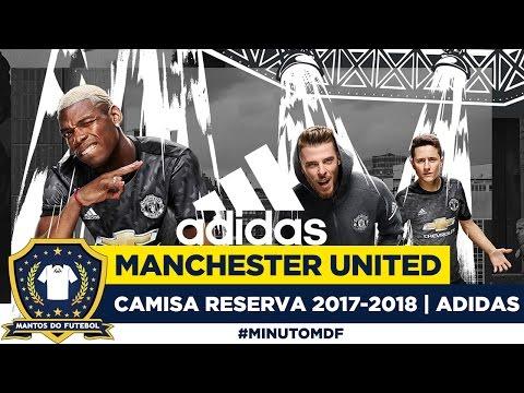 😈 Camisa reserva do Manchester United 2017-2018 Adidas