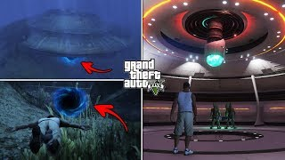 What Happens If You Visit the Underwater UFO After 100% Completion? (Hidden Entrance and Control)