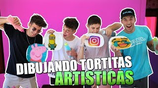 COMPETICIÓN DE TORTITAS ARTÍSTICAS!! PANCAKES CHALLENGE [bytarifa]