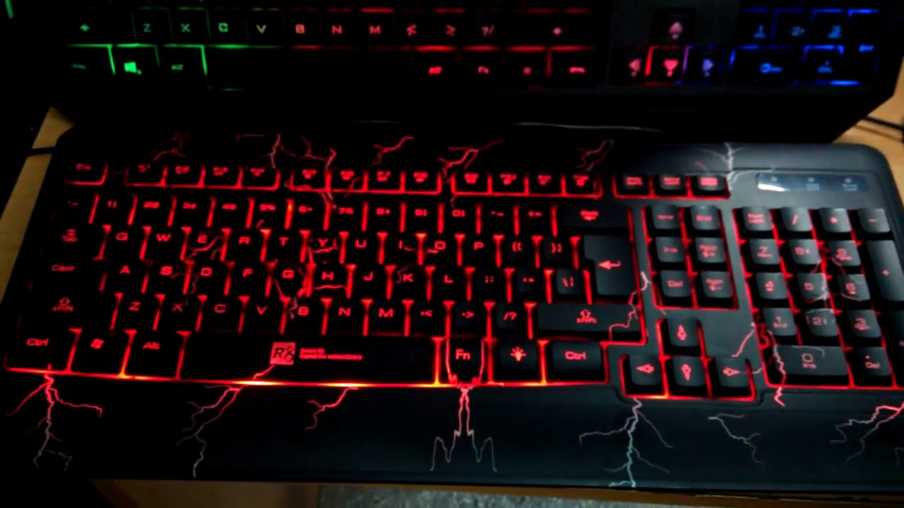 R8 Keyboard KB 1821 Good For On Line Gaming Experience