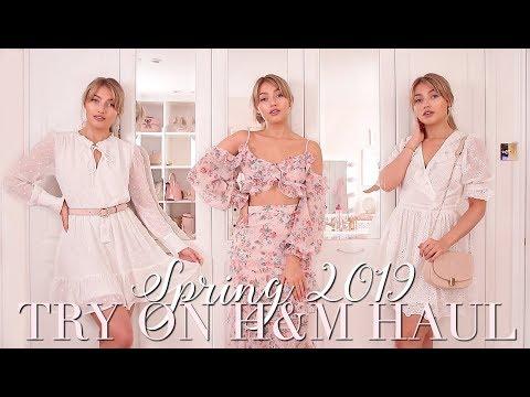 H&M Spring 2019 Try On Haul 🌸 ~ Spring Fashion Edit ~ Freddy My Love