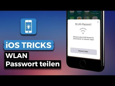 WLAN Sharing - So leicht teilt ihr WLAN Passwörter