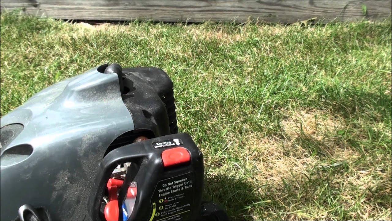 adjust carburetor craftsman trimmer