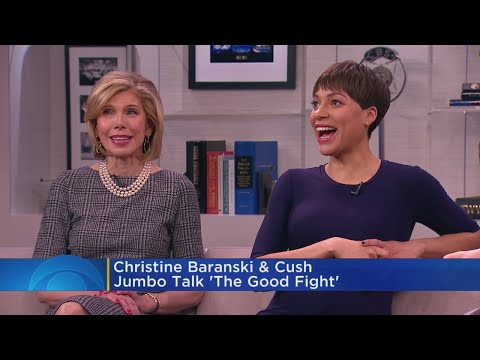 Christine Baranski, Cush Jumbo Talk 'The Good Fight' Season 2