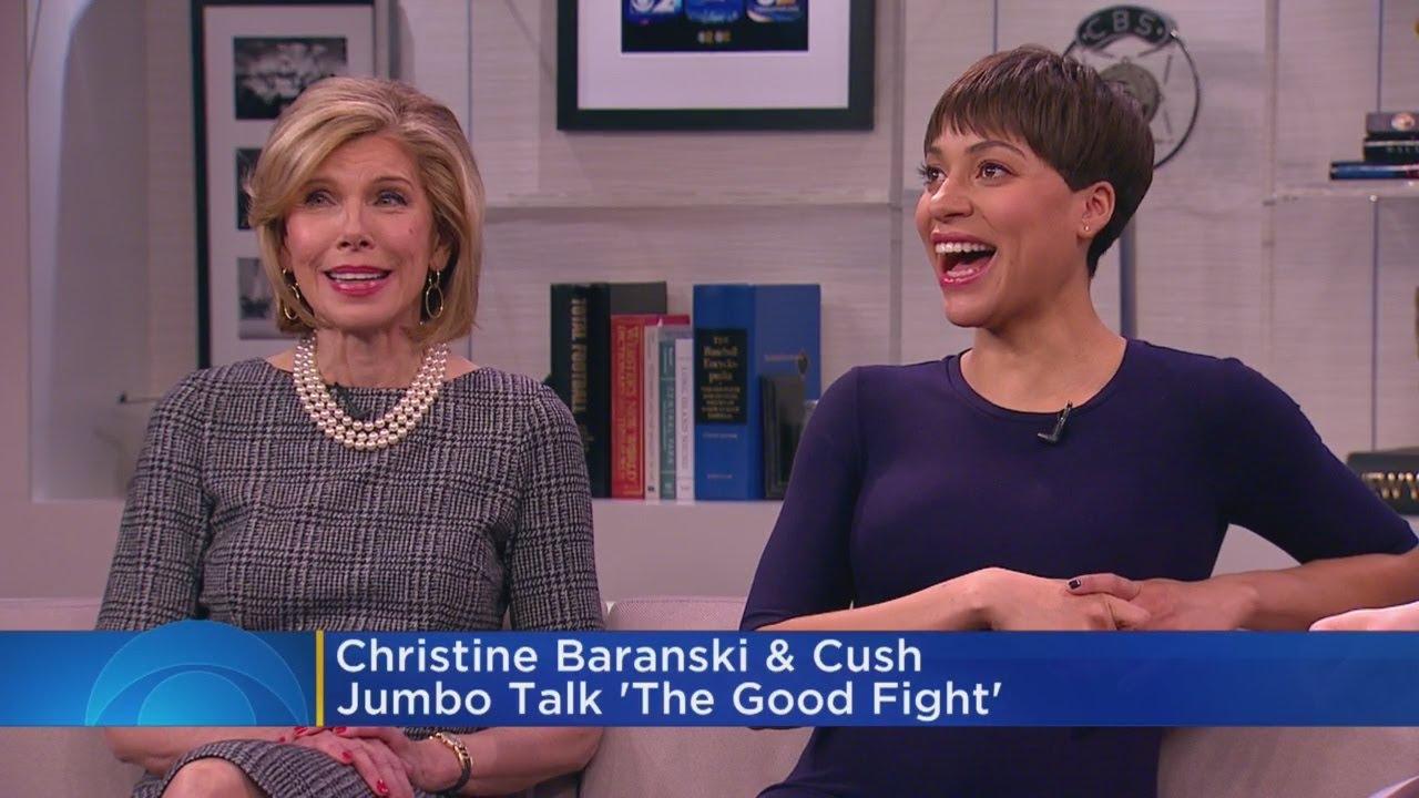 Download Christine Baranski, Cush Jumbo Talk 'The Good Fight' Season 2