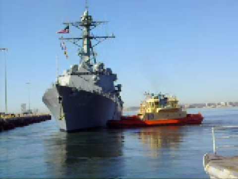 USS KIDD Deploys