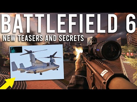 Battlefield 6 New Teasers and Secrets!