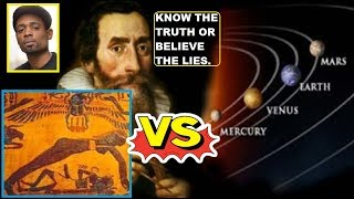 Bro. Sanchez - How Nut & Geb Became The Solar System. History of Heliocentrism (KEMETIC FLAT EARTH)