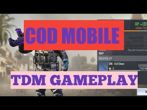 CALL OF DUTY MOBILE (COD) | TDM MATCH | GAMEPLAY