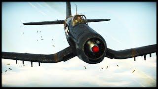 The SUPER CORSAIR || F4U 4B (War Thunder Gameplay)