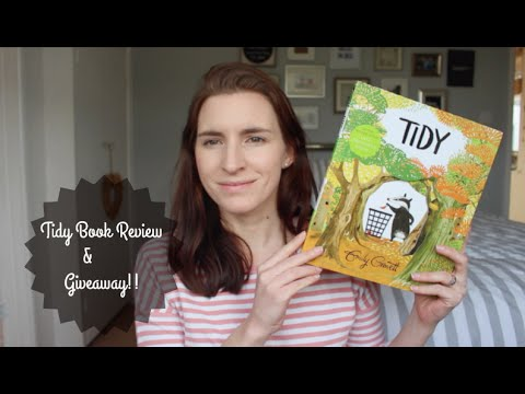 Tidy Book Review & Giveaway!!! #ad