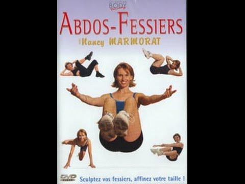 Abdos fessiers - Cours de fitness a la maison