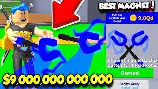 BUYING THE NEW $9,000,000,000,000 REBIRTH MAGNET IN MAGNET SIMULATOR!! (Roblox)