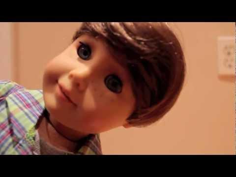 american boy doll customization logan youtube