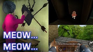 Episode 6 Save the CAT बिल्ली मौसी  - Scary Teacher 3D Really Funny Horror Gameplay