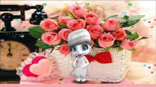 ZOOBE зайка Для Мамы С Днем Святого Валентина ! С Днём Влюблённых ! Валентинка !