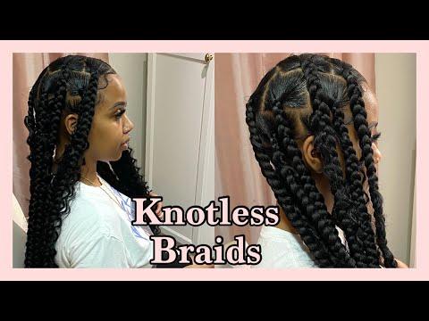 knotless-box-braids-tutorial-||-goddess-braids