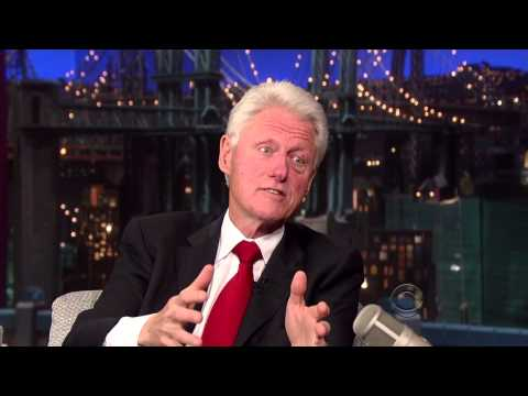 Bill Clinton on David Letterman - September 23 2013 - Full Interview