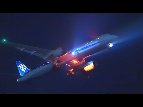 [4K] DMC-G7 ISO6400 Night Video Shooting Test @城南島 Tokyo International Airport