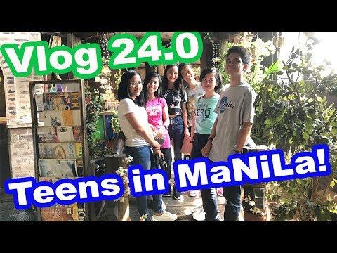 JajaGala Vlog: Teens lost in Manila!