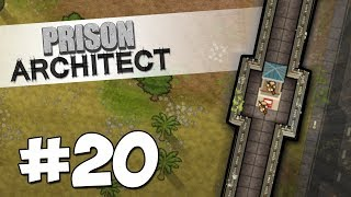 Prison Architect Modded #20 - SNIPER WALLS