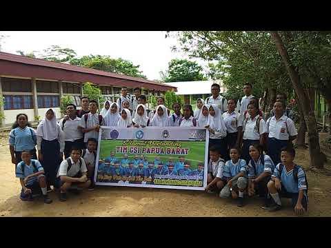 Salam Olahraga - Dukungan dari PD SMP N 1 kab. Sorong