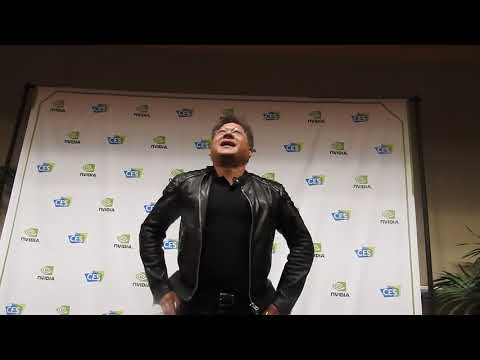 Nvidia CEO Jensen Huang Q&A part 1