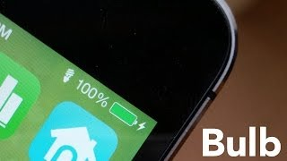 Bulb: add a status bar indicator for the iPhone