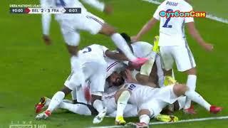 Бельгия Франция 2 3 КАМБЭЧИЩЕ Лига наций 2021