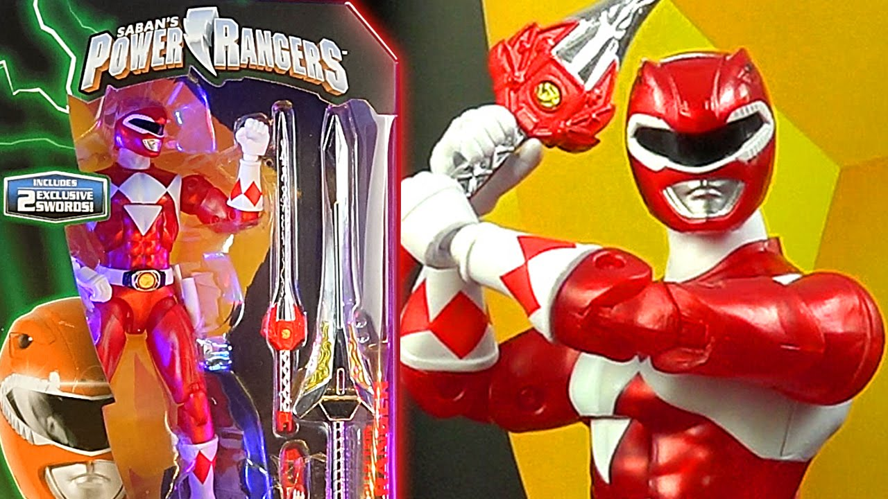 Power Rangers Legacy Figure Sdcc 2016 Exclusive Red