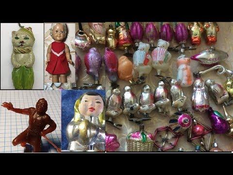 ЕСЛИ У ВАС ЕСТЬ ИГРУШКИ ВРЕМЕН СССР ВЫ БОГАТЫ! цена елочных игрушек TOP САМОЕ ИНТЕРЕСНОЕ