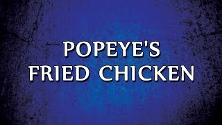 Popeye's Fried Chicken | RECIPES | EASY TO LEARN