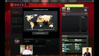 Dota 2 Gaming With Dean Bounty Hunter 3 Player Matchmaking with commentary (British Accents!)