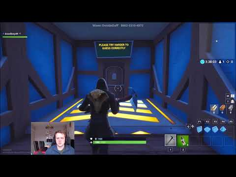 fortnite how to beat the riddle map riddle maze ft 4thwall narrator 2 0 superkinovezde rf - fortnite riddle maze and answers