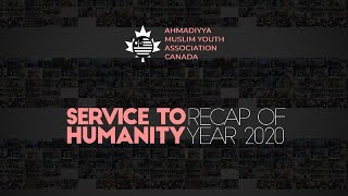 Muslim Youth Canada Service To Humanity | Recap of Year 2020