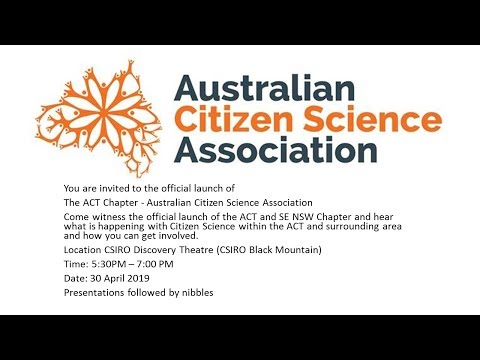 Michael Mulvaney - ACT & Region Chapter Launch - 30 April 2019