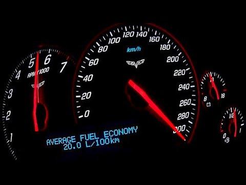 Corvette Acceleration 0-100 0-200 Top Speed Test