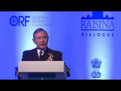 Raisina 2017 | Keynote Address of Adm. Harry B. Harris Jr